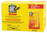 Farnam Home & Garden 100504295 Just One Bite II Rat & Mouse Killer, Bars, 8-Ct.