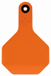 Y-Tex 7703000 All American Livestock Tag, Blank, Medium, Orange, 25-Pk.
