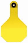 Y-Tex 7713000 All American Livestock Tag, Blank, Medium, Yellow, 25-Pk.