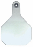 Y-Tex 7901000 All American Livestock Tag, Blank, Large, White, 25-Pk.