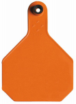 Animal Health International 7903000 All American Livestock Tag, Blank, Large, Orange, 25-Pk.