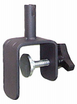 Woodlink SP25 Deck Clamp, Vertical Rail, Black Steel, 4.5-In.