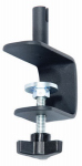Woodlink SP7 Deck Clamp, Horizontal Rail, Black Steel, 6-In.
