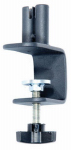 Woodlink SP8 Deck Clamp, Double, Horizontal Rail, Black Steel, 6-In.
