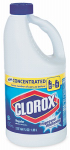 Clorox The 30769 Liquid Bleach, Concentrated, 64-oz.