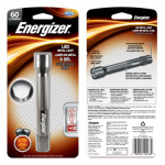 Eveready Battery ENML2AAS 2 'AA' LED Aluminum Flashlight