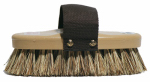Decker Mfg 92 Horse Grooming Brush, Brown Union Fiber, 7-5/8 x 3-5/8-In.