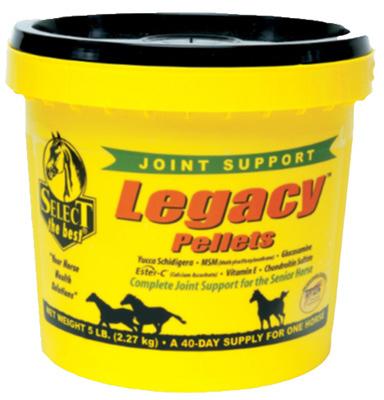 La Santé Animale International 540507 Legacy Senior Horse supplément Pellets,
