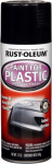 Rust-Oleum 248649 Spray Paint For Plastic, Black, 11-oz.
