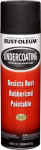 Rust-Oleum 248657 Rubberized Undercoating Spray, Black, 15-oz.