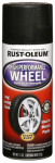 Rust-Oleum 248928 Wheel Coating, Flat Black, 11-oz.