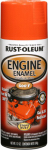 Rust-Oleum 248941 Engine Spray Enamel, Chevy Orange, 12-oz.