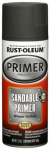 Rust-Oleum 249418 Automotive Spray Primer, Sandable, Black, 12-oz.