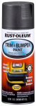 Rust-Oleum 251574 Trim & Bumper Paint, Matte Black, 11-oz.