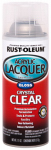 Rust-Oleum 253366 Acrylic Lacquer Spray, Automotive, Clear Gloss, 11-oz.