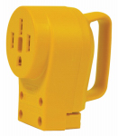Camco Mfg 55353 RV PowerGrip Receptacle, 50-Amp Female