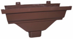 Genova Products AB104 Duraspout Gutter Drop Outlet, 2 x 3-In.