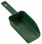 Poly Pro Tools P-6300G Poly Hand Scoop, Green, 2-Cup