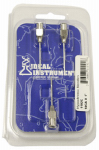 Neogen 1192 Animal Needles, 1-In. Stainless Steel, 18-Ga., 3-Pk.