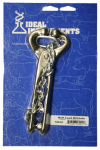Neogen 7001 Bull Lead With Chain, Nickel-Plated, 13.5-In.