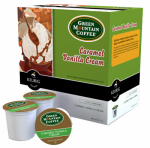 Keurig Green Mountain 120234 K-Cup For Keurig Coffee Brewers, Caramel Vanilla Cream, 18-Ct.