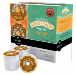 Keurig Green Mountain 01802 K-Cup For Keurig Coffee Brewers, Donut Shop Decaf, 18-Ct.