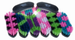 Decker Mfg CA2010 Horse Grooming Brush Set, Assorted Colors, 12-Pk.
