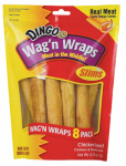 United Pet Group P-34009 Dingo Dog Treats, Wag 'N Wraps Chicken, 8-Pk.