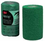 3M 1410HG Vetrap Horse Bandaging Tape, Hunter Green, 4-In. x 5-Yds.
