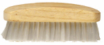 Decker Mfg FB21 Horse Facial Brush, 4-3/4 x 1-3/4-In.