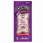 United Pet Group P-23711 Dingo Ring-o-o Dog Treats, Rawhide, 5-Pk.