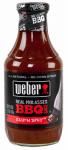 B&G Foods 2010292 Weber's Kick 'n Spicy BBQ Sauce 18 oz.