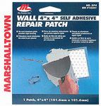 Marshalltown Trowel 16301 Drywall Patch Kit, 4 x 4-In.