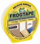 Shurtech Brands 280221 Delicate Surface Yellow Painting Tape, 1.41-In. x 60-Yds.