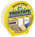 Shurtech Brands 280222 Delicate Surface Yellow Painting Tape, 1.88-In. x 60-Yrd.