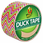 Shurtech Brands 280978 Duct Tape, Zig Zag Print, 1.88-In. x 10-Yds.