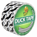 Shurtech Brands 281026 Duct Tape, Mustache Print, 1.88-In. x 10-Yds.