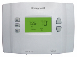 Honeywell Home/Bldg Center RTH2410B1001/E1 Programmable Thermostat, 5-1-1 Day