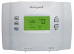Honeywell Home/Bldg Center RTH2510B1000/E1 Programmable Thermostat, Conventional 7-Day