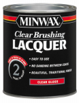 Minwax The 15500 Clear Lacquer, Gloss, 1-Qt.