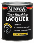Minwax The 15505 Clear Lacquer, Semi-Gloss, 1-Qt.