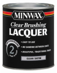 Minwax The 15510 Clear Lacquer, Satin, 1-Qt.