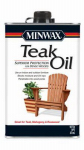 Minwax The 471004444 Teak Oil Wood Treatment, 1-Pt.