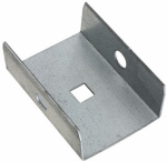 National Mfg N104-307 Galvanized Barn Door Rail End Cap