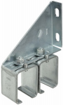 National Mfg N104-752 Galvanized Barn Door Double-Splice Bracket