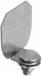 National Mfg N193-839 Galvanized Barn Door Rail End Cap
