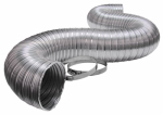 Lambro Industries 3120ULC Transition Duct, Aluminum, 4 x 8-Ft.