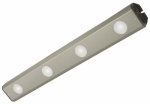 Good Earth Lighting G0918-4LSS-I LED Under-Cabinet Light, Stainless Steel, 18-In.
