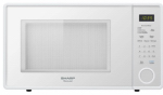 Almo Distributing Wisconsin SMC1131CW Microwave Oven, 11-1/4-In. Turntable, White, 1.1-Cu. Ft.