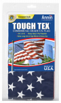 Annin Flagmakers 182004 Tough Texture or Textured or Texas U.S. Flag, 2-Ply Polyester, 4 x 6-Ft.